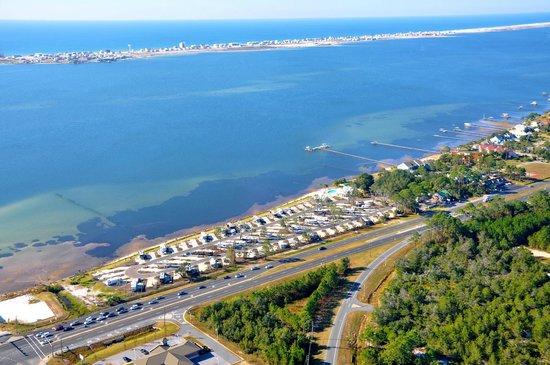 Santa Rosa RV Resort: View of Park from Air