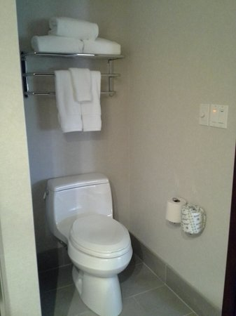 Inn on Woodlake: A nice Kohler toilet, of course ...