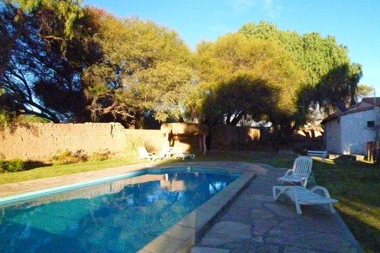 Hacienda de Molinos: Vista de la piscina
