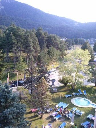 Alp Hotel Masella : Vistas desde la habitación.