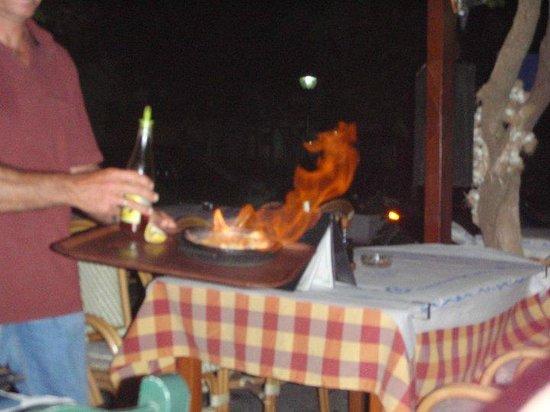 Pyli, Greece: SAGANAKI TAVERNA DROSOS