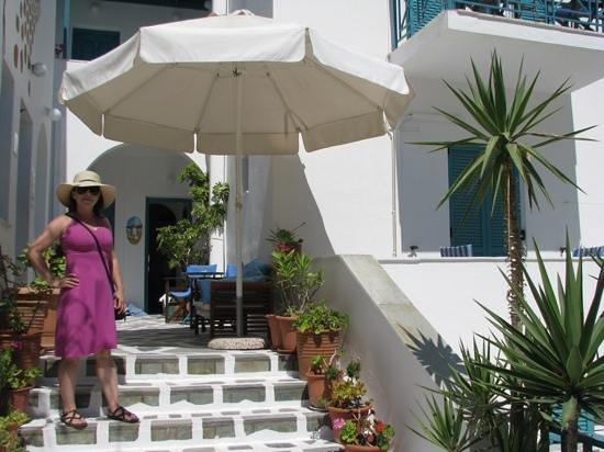 La Selini: hotel entrance