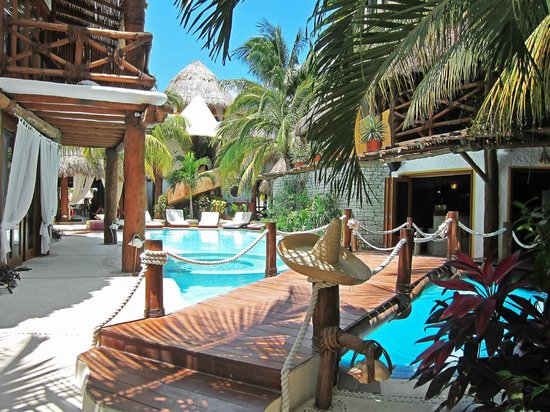 Swimming pool picture of holbox hotel casa las tortugas - Holbox hotel casa las tortugas ...