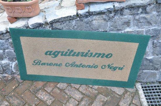 Agriturismo Biologico Barone A. Negri di Gaiano: Agritourismo