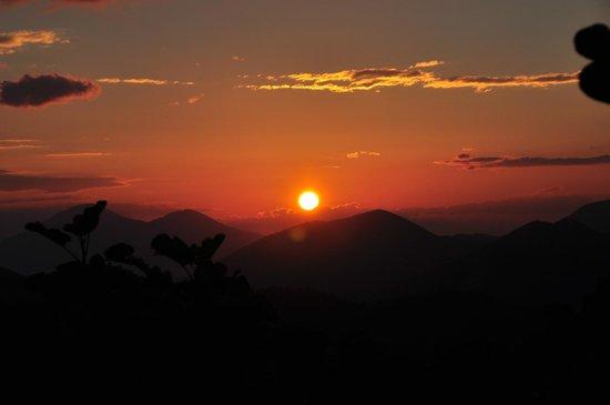 Agriturismo Biologico Barone A. Negri di Gaiano: Sunset