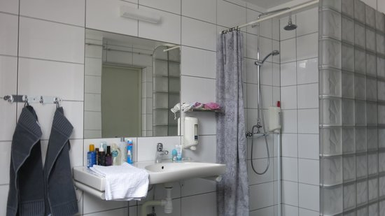 Svanen Hotel & Youth Hostel : Badet