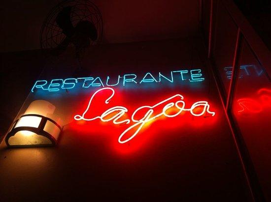 Bar Lagoa : L'insegna