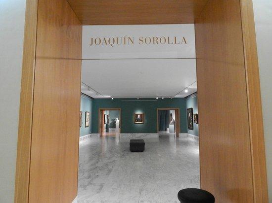 Museo de Bellas Artes de Valencia: Sala Sorolla