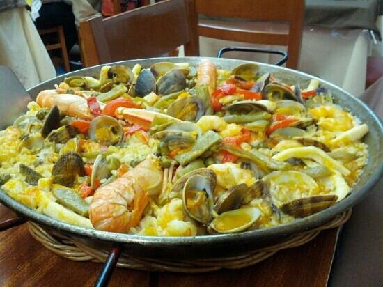 Casa Albo : paella super!!!!