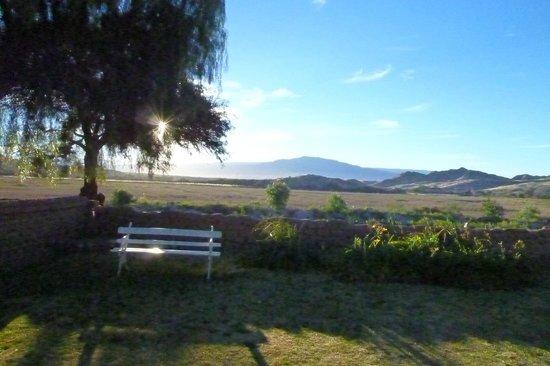 Hacienda de Molinos: Vista desde la piscina