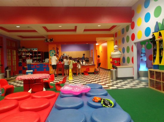 Marriott's Shadow Ridge I-The Villages: Espacio infantil, deco muy cool