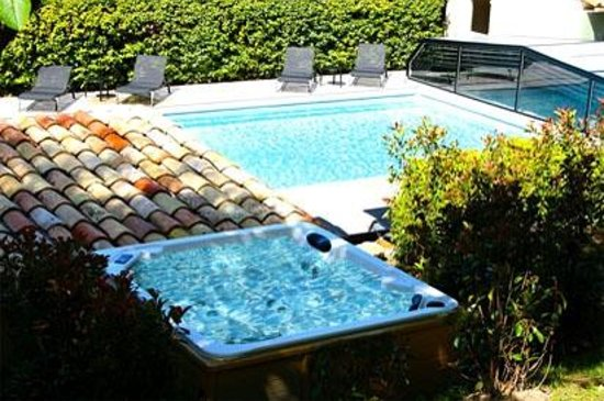 Le Mas de Fontefiguieres : Pool and Spa