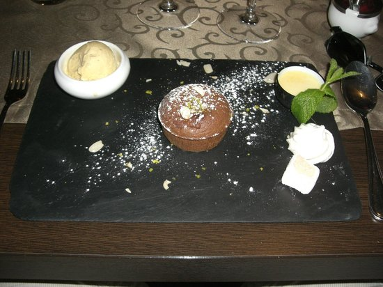 Le Statu.co: Smaskig chokladfondant med tillbehör!