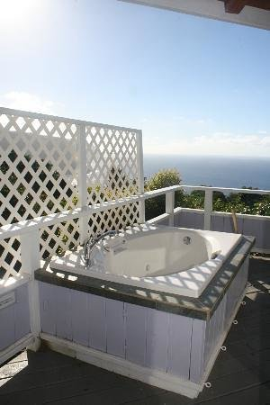 Hale Kukui : Private Hot tub on lanai (No jets)