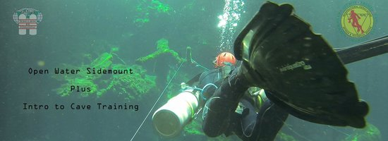 Open Water Sidemount and Intro to Cave Combo pack