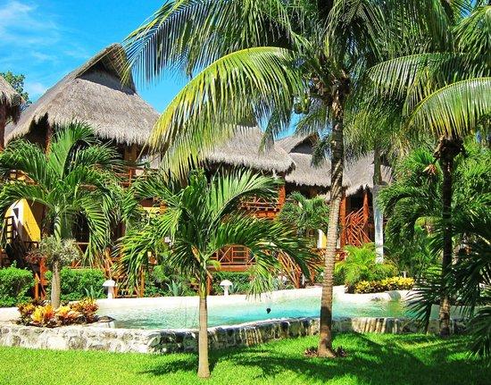 Mahekal Beach Resort : Территория отеля