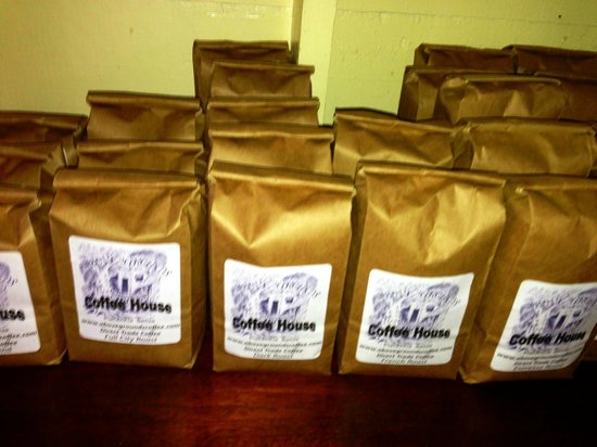 Above Grounds Coffee: Guatemalan Coffee grounds!