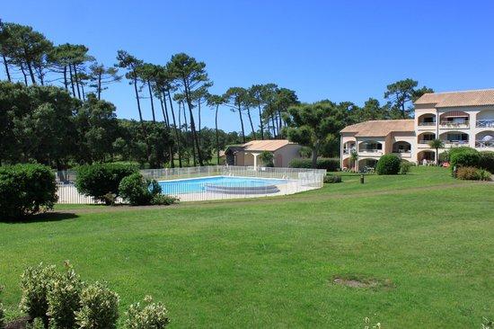 Madame Vacances Residence Du Golf & Les Appartements de Moliets: La vue de l'appartement