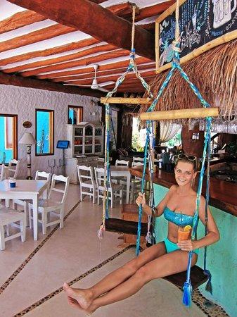 Holbox Hotel Casa las Tortugas - Petit Beach Hotel & Spa : Bar