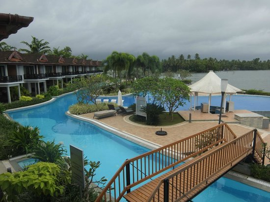 Ramada Resort Cochin : View from the cottage