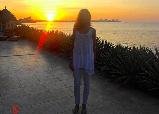 Hotel Boutique Playa Canela Salinas: El atardecer en Playa Canela