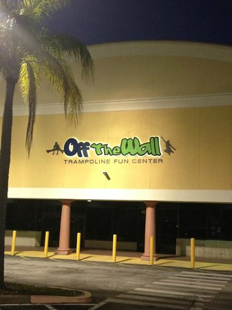 Off the wall trampoline coupons