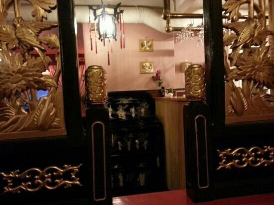 China restaurant: 优雅的环境。