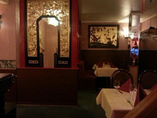 China restaurant: 中式装修。