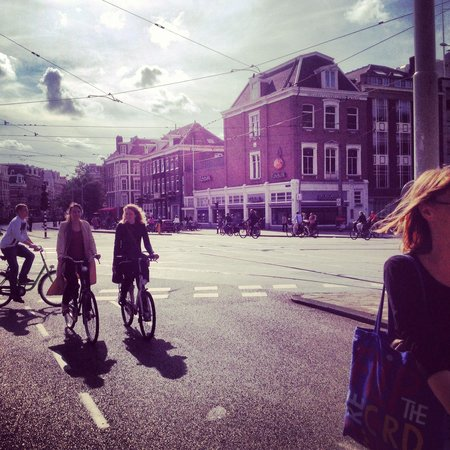 Hotel Blyss : Bikes em Amsterdã