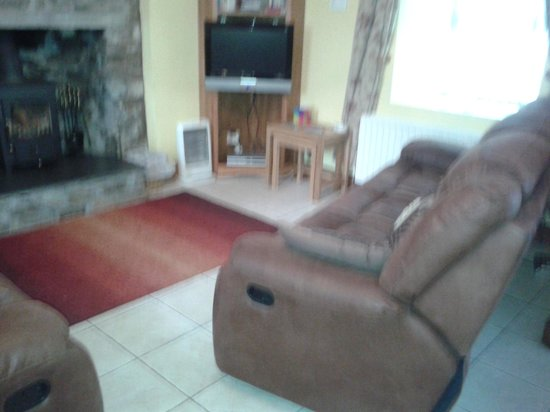Drummore, UK: Cosy living room
