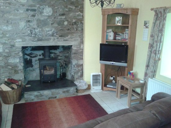 Drummore, UK: Living room