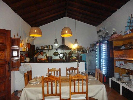 Posada La Movida: Área do jantar e café da manhã