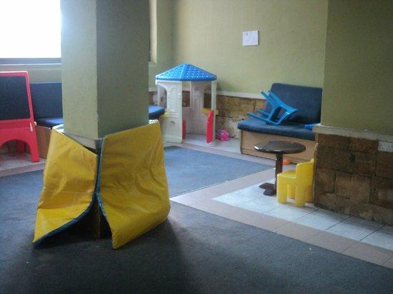 The San Anton Hotel : childrens play room
