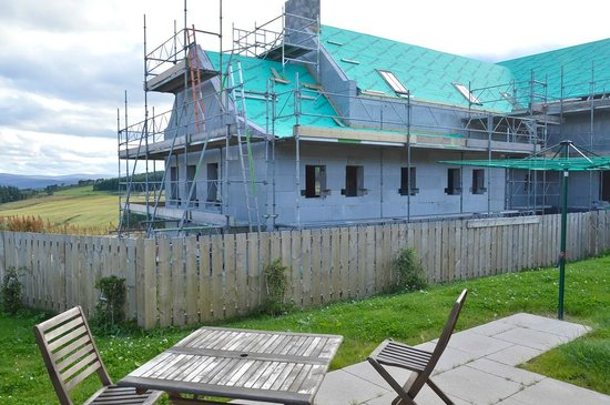 Perkhill Holiday Cottages: View from the outdoor seating at Lady Macbeth's Rest