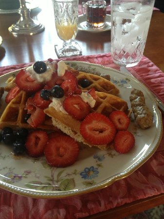 Willey's Farm Bed & Breakfast: Breakfast!