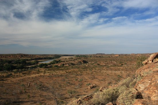 Mapungubwe National Park: View from the Confluence Deck looking towards Zimbabwe