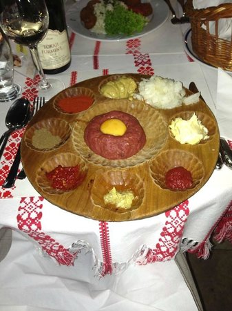 Restaurant Alföldi Vendéglő : tartare