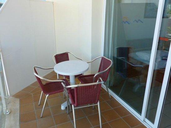 Aparthotel Costa Encantada : terrasse