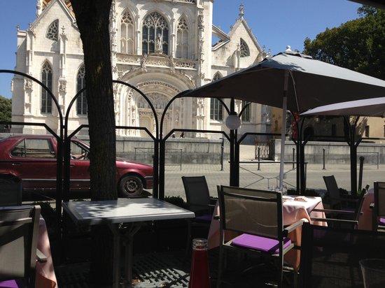 Auberge Bressane : Terrasse