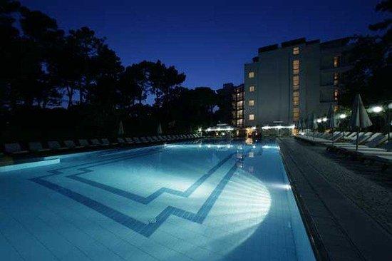 Hotel Greif Lignano: Pool View