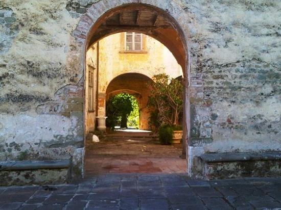 Park of Villa Reale : Villa Reale - Palazzo del Vescovo