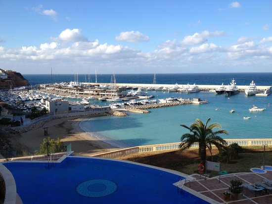 View of Port Adriano from Port Adriano Hotel & Spa
