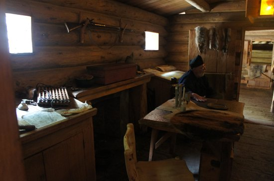 Fort Clatsop National Memorial : One of the main rooms