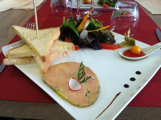 Le Gasquet: foie gras maison