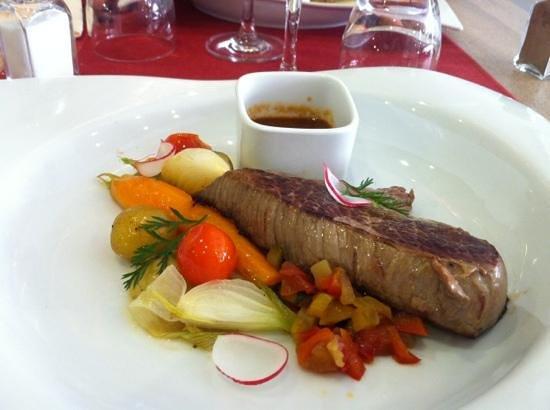Le Gasquet: pavé de bœuf