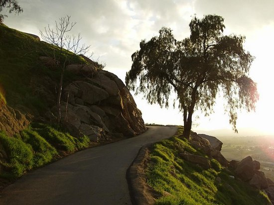Mount Rubidoux Park: Great light from the trail