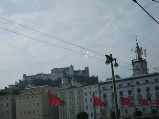 Panorama Tours - Salzburg: Another Blurry Photo While Hanging Onto the Grab Handle...