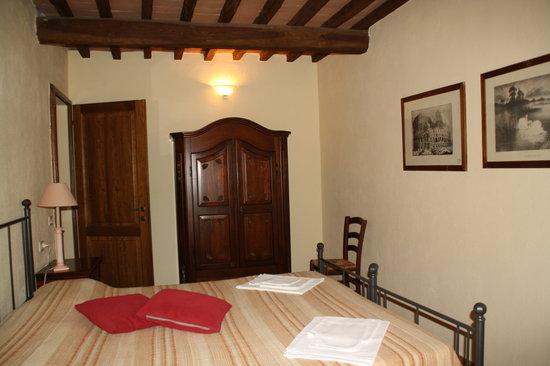 Casavacanze Podere Cascatelle & Agriletizia: le camere