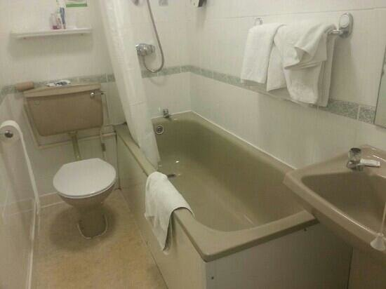 TLH Carlton Hotel: this is our bathroom its discusting! !!!!