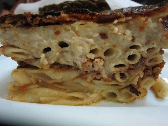 Taverna - Skaramagas : Pastisio